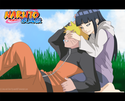 NaruHina Love Colored by Sarah927