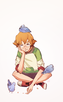 Some Pidge(on)s hanging out by VanillaSkyWolf