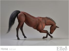 Horse bjd doll 13 by leo3dmodels