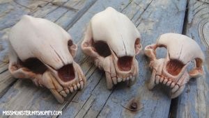 BJD skull masks by missmonster
