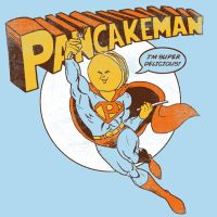 Pancakeman by HillaryWhiteRabbit