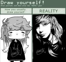 Draw yourself :MEME: by Greesty