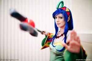 Riddel Viper - Chrono Cross by FireLilyCosplay