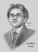 Goodbye, Iwata by the-b3ing