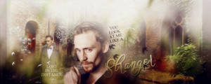 Tom Hiddelston - Stranger by DarkFairy007