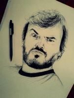 Jack Black by IamLesFleurs