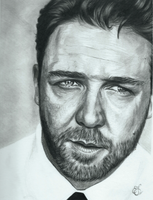 Russell Crowe by Sarahsdaughter