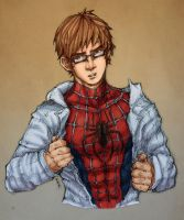 Spidey Back in Action-colored by nursury0