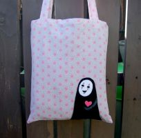 Super cute Noface bag by yael360
