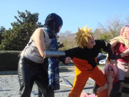 Team Seven-For Naruto by WillowTreeWitch