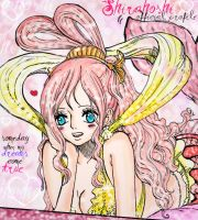 Shirahoshi 613 Colored by RoseValentineSwan