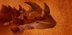 Thorny Devil Portrait by SzGfx