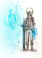 Eugene Sims - Infamous: Second son by HolliBlue