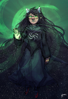 Witch of Space by StaticColour