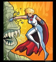 PowerGirl Re-Design by PaulSizer