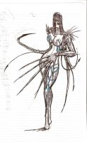 Witchblade fanart Nora 2 by Humanis