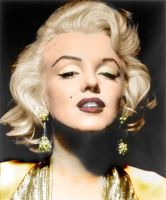 marilyn monroe by phunkitup