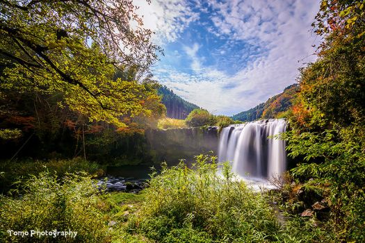 Sendo Water Fall in Ohita, Japan. by WindyLife