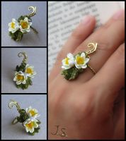 Lotus Pond ring by JSjewelry