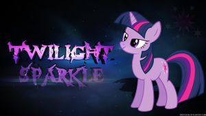 Twilight Sparkle Wallpaper by Dropgasm
