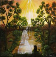 Spiritual Sunset 2014 copy 1 by Foxycrafts-and-Arts