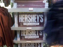GIANT HERSHEY BAR by Jskates4u