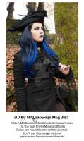 Autumn Gothic Lady Stock 005 by MADmoiselleMeliStock