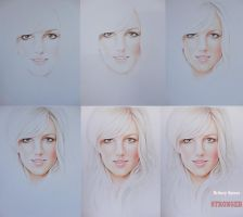Britney Spears  WIP by Zombieyue