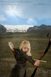 HUNTRESS OF THE DALES 11-1214 by AnthonyShea