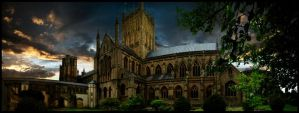 Wells Cathedral by janissomers