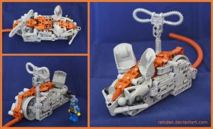Bionicle MOC: Wheelmouse by Rahiden