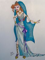 Megara's Wedding Dress by happyeverafter