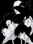 Bardock and his Squad by lenbeezy