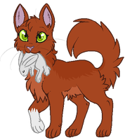 Squirrelflight by lulubellct