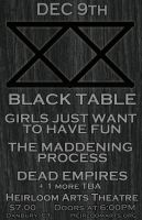 Black Table 12-9 by gotsubverted