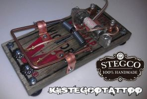Tattoo Rat Trap by Stegco