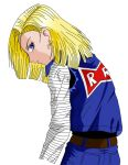 Android 18 in color by PhoenixVibe