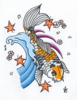 Koi Tattoo by chickenfoot87