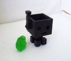 Lil Blocky Thing by Cube-lees