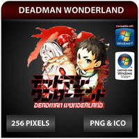 Deadman Wonderland - Anime Icon by Zazuma
