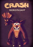 Crash Bandicoot by Julien1866