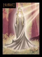 Galadriel, Unexpected Journey by hollano