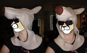 Look at My Dog Hat WIP by PvtPuma