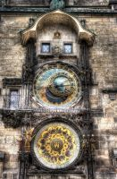 Prague Orloj by EllieFragile