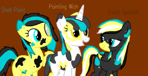 The Artistic Sisters (New OCS) by Honey-PawStep