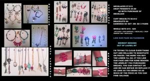 selling all jewelry by rainbowingz
