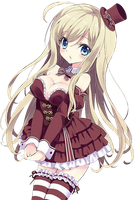NouCome - Chocolate Render 3 by Adiim