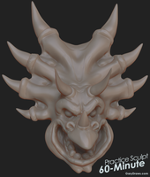 B.P. Richfield - 60-Minute Practice Sculpt by GaryStorkamp