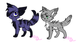hatched egg adoptables by MillyTheTigerKitten