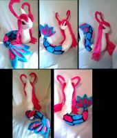 3 ft Milotic plush by LRK-Creations